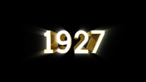 Year 1927 a HD CG動画