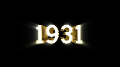 Year 1931 a HD CG動画