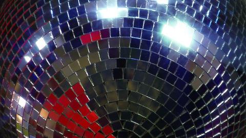 disco mirror ball super close Footage