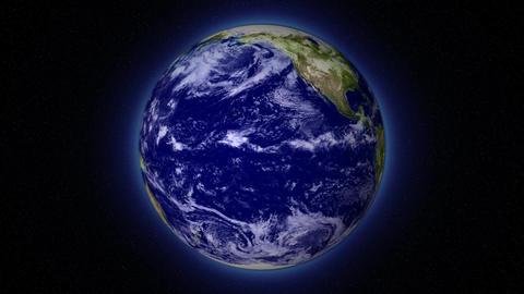 BluePlanetLoop Earth 16bitColor Stock Video Footage