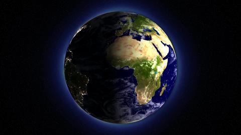 EarthLoop DayChange 16bitColor Stock Video Footage