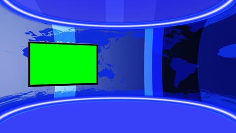 VirtualStudio01 Stock Video Footage