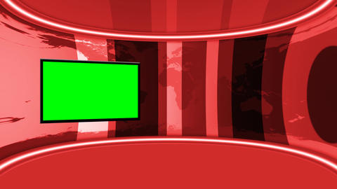 VirtualStudio03 Stock Video Footage