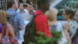 Pedestrians, New York Stock Video Footage