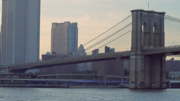 Brooklyn Bridge, New York Stock Video Footage