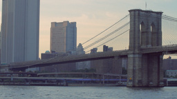 Brooklyn Bridge, New York Footage
