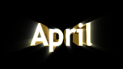 Months 04 April a Animation