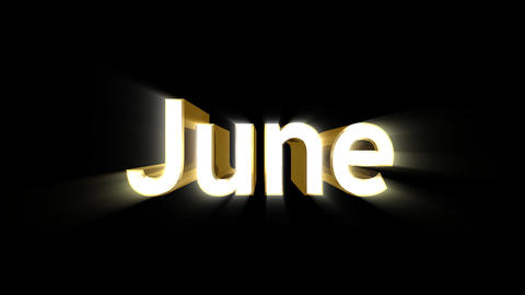 Months 06 June a Animation