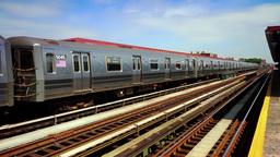 Metro Departing Stock Video Footage