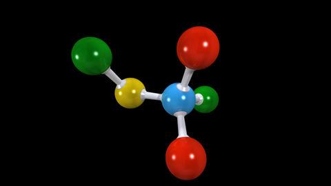 molecula 01 Stock Video Footage