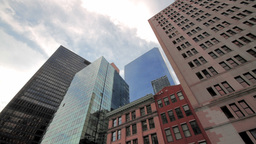 Financial District Stock Video Footage