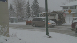 HD2008-12-7-11 snow plow Stock Video Footage