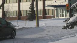 HD2008-12-7-31 snow traffic Stock Video Footage