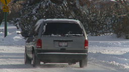 HD2008-12-7-35 snowblower Stock Video Footage