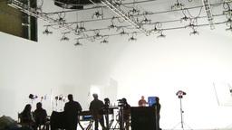 HD2008-12-7-44 TV set Stock Video Footage