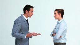 Coworkers arguing Footage