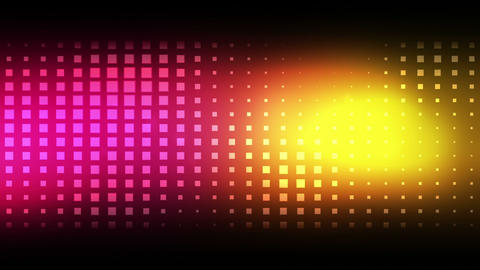 Moving pink and yellow squares Animation