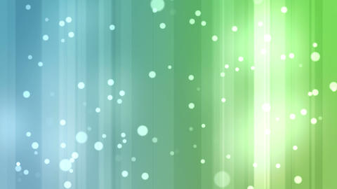 Blue and green streams of light with shining stars Stock Video Footage