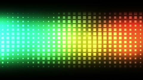 Moving colourful squares Stock Video Footage