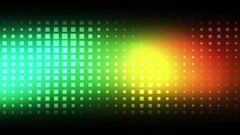 Moving colourful squares Animation
