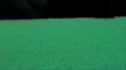 Aces thrown in super slow motion Stock Video Footage