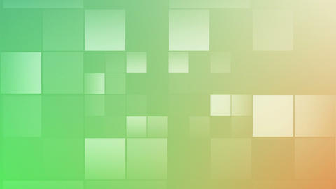 Green Square In Motion stock footage