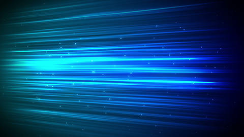 Digital stroke with sparks in blue Stock Video Footage