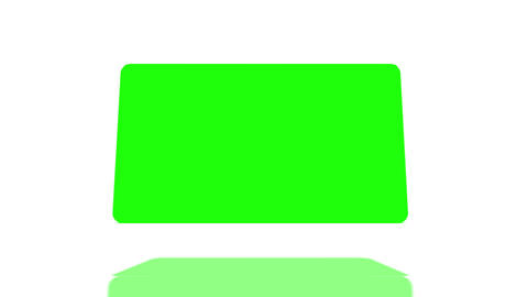 Cube of chroma key space Animation