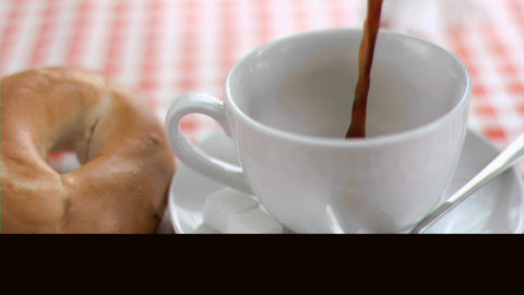 Videos of coffee in super slow motion Animation