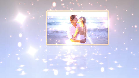 Videos of newlyweds on the beach Animation