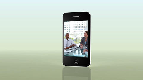 Videos of business on a smartphone Stock Video Footage