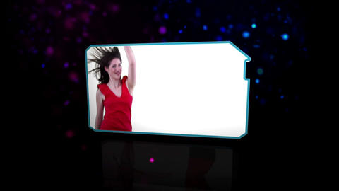 Cheerful women dancing happily Stock Video Footage