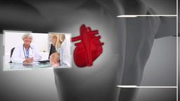 Videos of a healthcare centre Animation