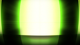 Green disco lights Stock Video Footage