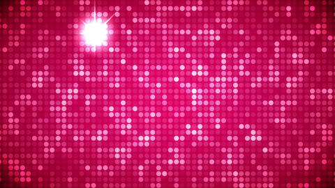 Video of pink dots Animation