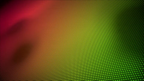 Video of multiple pink and green dots Animation
