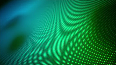 Video of multiple blue and green dots Animation