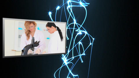 Video of laboratory Stock Video Footage