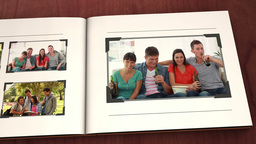 Book of friends videos Stock Video Footage
