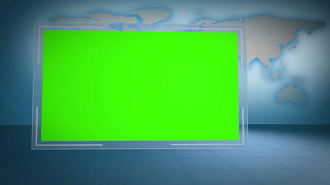 Video of green chroma key with Earth image courtesy of Nasa.org Animation