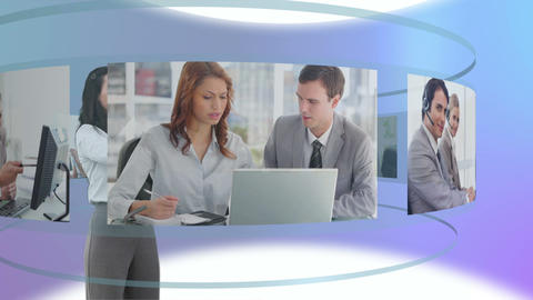 Some videos of business people Stock Video Footage