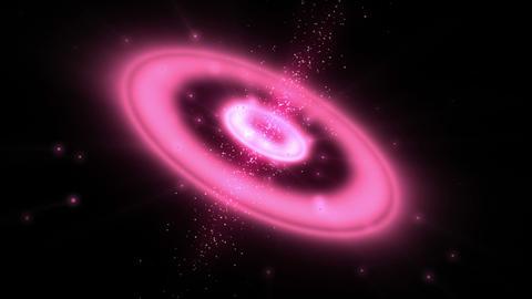 Pink circle Animation