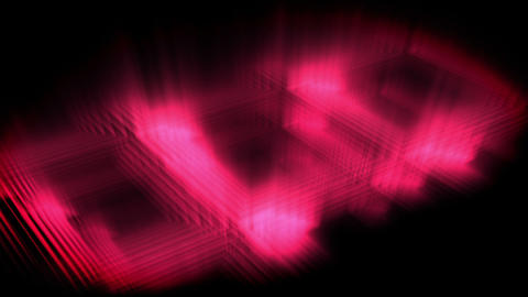 Pink glow forming a square Stock Video Footage