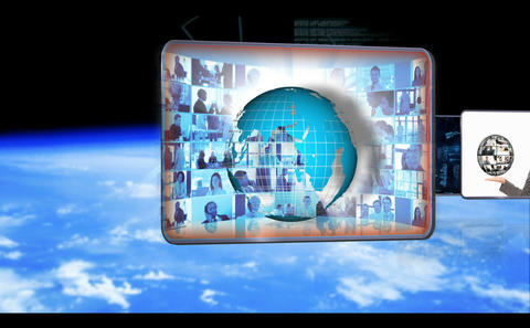 Animated videos of businesspeople global business  Animation