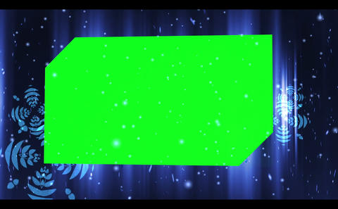 Galactic Background With Chroma Keys stock footage