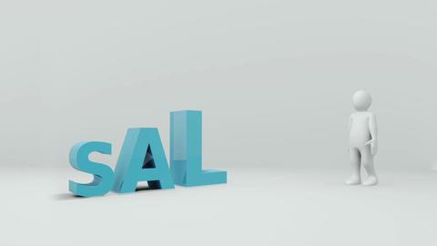 Sales stock footage