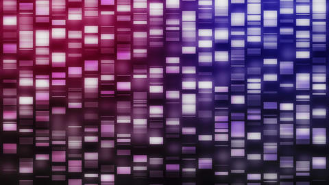 Falling DNA strands Stock Video Footage