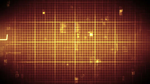 Fast heart rate line on moving digital background Animation