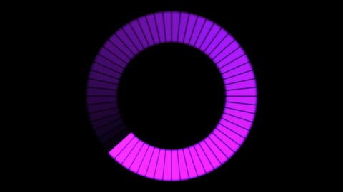 Rotating Ring, Loading Circle - Loop Animation