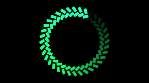 Rotating Ring, Loading Circle - Loop Stock Video Footage